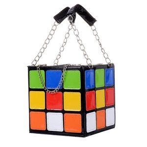 RubiX Cube Clutch